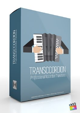 Final Cut Pro X Plugin FCPX Transccordion from Pixel Film Studios