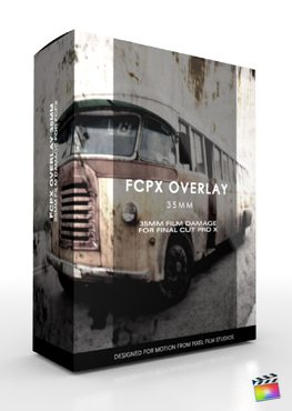 Final Cut Pro X Plugin FCPX Overlay 35mm from Pixel Film Studios