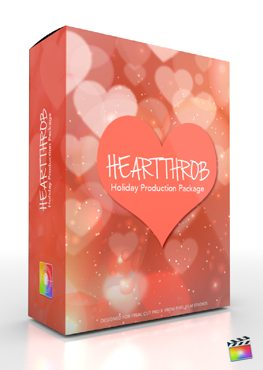 Final Cut Pro X Plugin Production Package Theme HeartThrob from Pixel Film Studios