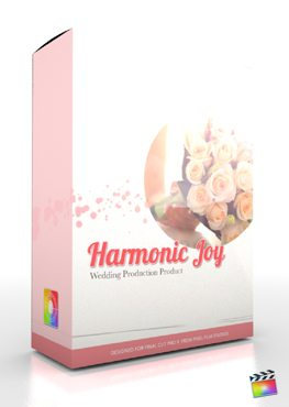 Final Cut Pro X Plugin Production Package Theme Harmonic Joy from Pixel Film Studios