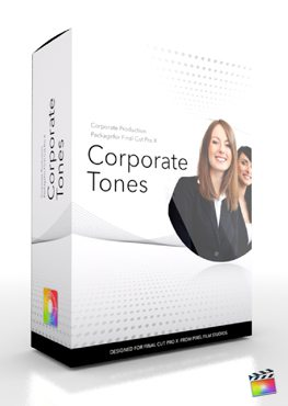 Final Cut Pro X Plugin Production Package Theme Corporate Tones from Pixel Film Studios