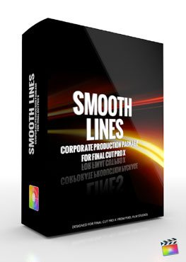 Final Cut Pro X Plugin Production Package Theme Smooth Lines from Pixel Film Studios
