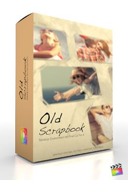 Final Cut Pro X Plugin Production Package Theme Old Scrapbook from Pixel Film Studios