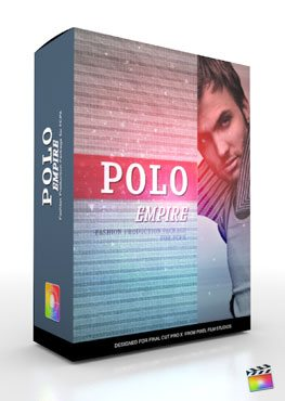 Final Cut Pro X Plugin Production Package Theme Polo Empire from Pixel Film Studios