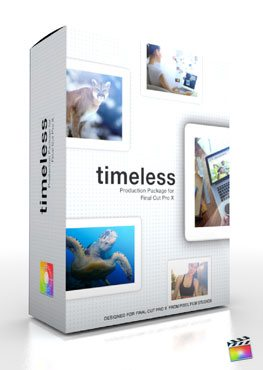 Final Cut Pro X Plugin Production Package Theme Timeless from Pixel Film Studios