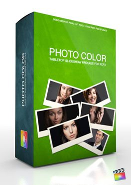 Final Cut Pro X Plugin Production Package Theme Photo Color from Pixel Film Studios