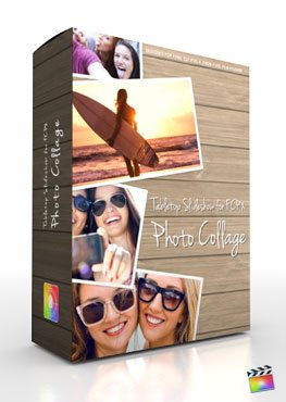 Final Cut Pro X Plugin Production Package Theme Photo Collage from Pixel Film Studios