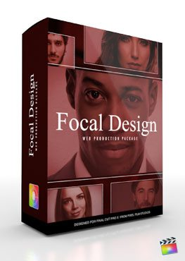 Final Cut Pro X Plugin Production Package Theme Focal Design from Pixel Film Studios