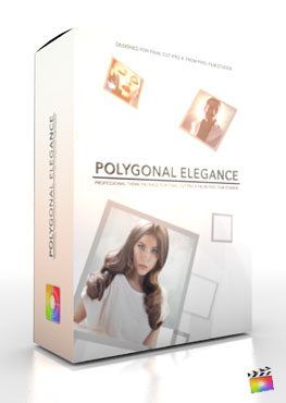 Final Cut Pro X Plugin Production Package Theme Polygonal Elegance from Pixel Film Studios