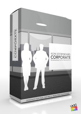 Final Cut Pro X Plugin FCPX Storyboard Corporate from Pixel Film Studios