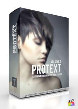 Final Cut Pro X Plugin ProText Volume 2 from Pixel Film Studios