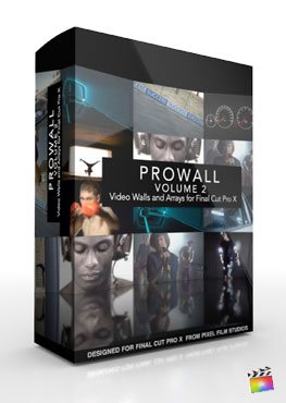 Final Cut Pro X Plugin ProWall Volume 2 from Pixel Film Studios