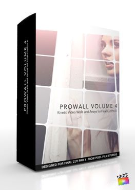 Final Cut Pro X Plugin ProWall Volume 4 from Pixel Film Studios
