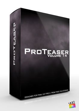 Final Cut Pro X Plugin Proteaser Volume 14 from Pixel Film Studios