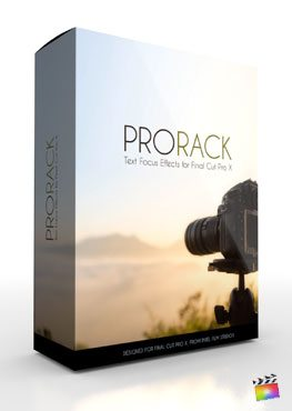 Final Cut Pro X Plugin ProRack from Pixel Film Studios