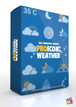 Final Cut Pro X Plugin ProIcon Weather from Pixel Film Studios