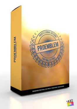 Final Cut Pro X Plugin ProEmblem from Pixel Film Studios