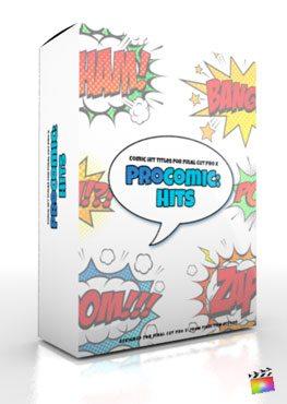 Final Cut Pro X Plugin ProComic Hits from Pixel Film Studios