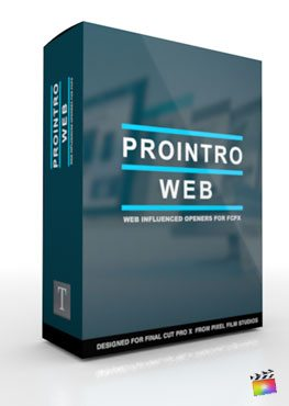 Final Cut Pro X Plugin ProIntro Web from Pixel Film Studios
