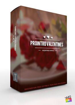 Final Cut Pro X Plugin ProIntro Valentines from Pixel Film Studios