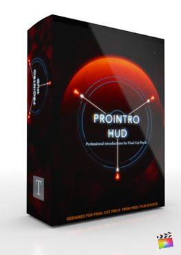 Final Cut Pro X Plugin ProIntro HUD from Pixel Film Studios