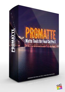 Final Cut Pro X Plugin ProMatte from Pixel Film Studios