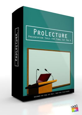 Final Cut Pro X Plugin ProLecture from Pixel Film Studios
