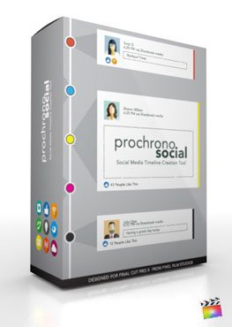 Final Cut Pro X Plugin ProChrono Social from Pixel Film Studios