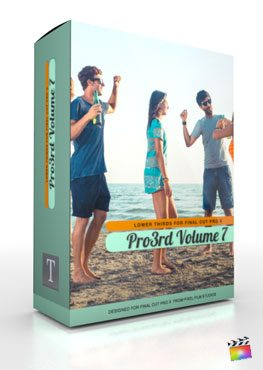 Final Cut Pro X Plugin Pro3rd Volume 7 from Pixel Film Studios