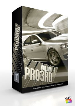 Final Cut Pro X Plugin Pro3rd Volume 1 from Pixel Film Studios