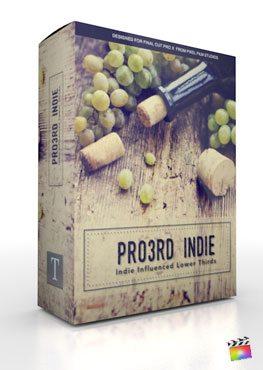 Final Cut Pro X Plugin Pro3rd Indie from Pixel Film Studios