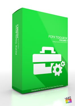 Final Cut Pro X Plugin FCPX Toolbox Volume 4 from Pixel Film Studios
