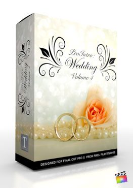 Final Cut Pro X Plugin ProIntro Wedding Volume 4 from Pixel Film Studios
