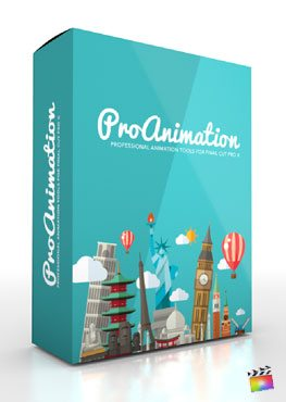 Final Cut Pro X Plugin ProAnimation from Pixel Film Studios