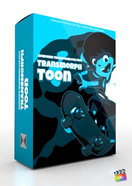 Final Cut Pro X Plugin TransMorph Toon from Pixel Film Studios