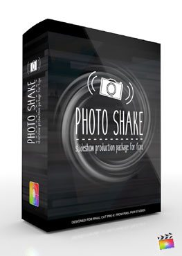 Final Cut Pro X Plugin Production Package Photo Shake from Pixel Film Studios