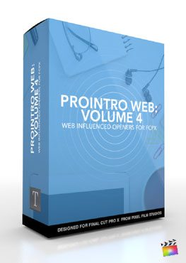 Final Cut Pro X Plugin Prointro Web Volume 4