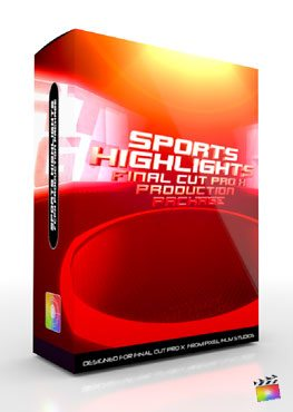 Final Cut Pro X Plugin Production Package Sports Highlights from Pixel Film Studios