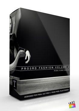 Final Cut Pro X Plugin Pro3rd Fashion Volume 2 from Pixel Film Studios