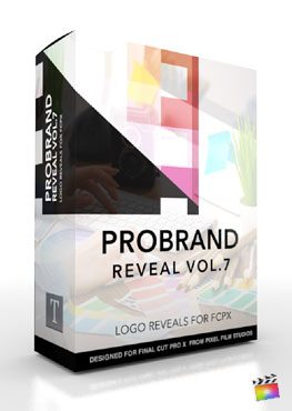 ProBrand: Reveal Volume 7 - Effects for Final Cut Pro X from Pixel Film Studios