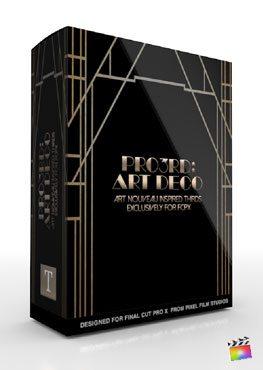Final Cut Pro X Plugin Pro3rd Art Deco from Pixel Film Studios