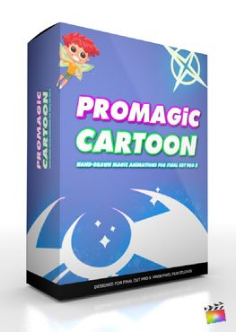 Final Cut Pro X Plugin ProMagic Cartoon from Pixel Film Studios