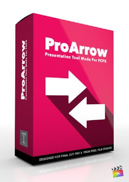 Final Cut Pro X Plugin ProArrow from Pixel Film Studios