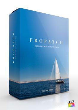 Final Cut Pro X Plugin ProPatch from Pixel Film Studios