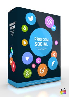Final Cut Pro X Plugin ProIcon Social from Pixel Film Studios