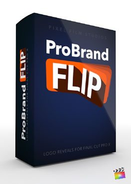 Final Cut Pro X Plugin ProBrand Flip from Pixel Film Studios