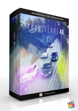 Final Cut Pro X Plugin Transflare 4K Jewel from Pixel Film Studios