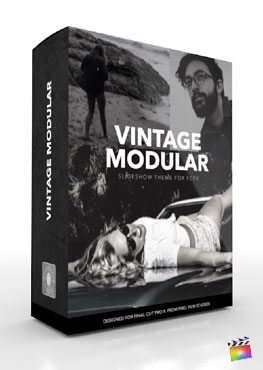 Final Cut Pro X Plugin Production Package Vintage Modular from Pixel Film Studios