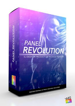 Final Cut Pro X Plugin Production Package Panel Revolution from Pixel Film Studios