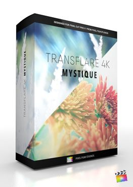 Final Cut Pro X Plugin TransFlare 4K Mystique from Pixel Film Studios